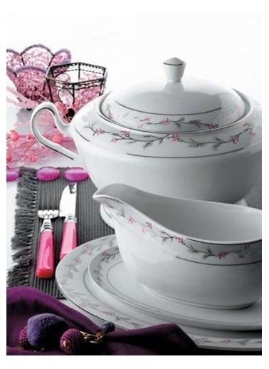 Schafer schafer-shf2023 Schafer Shf2023 86 Parça Deluxe Porselen Yemek Takımı Renkli